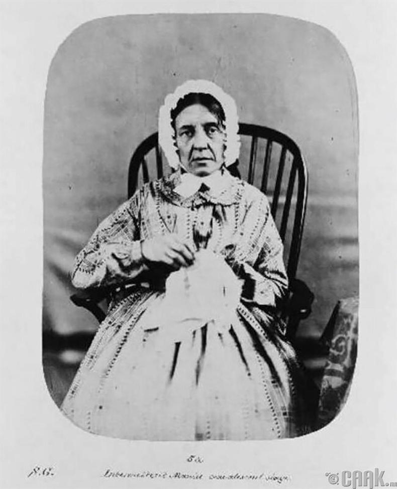 """Фанни Баррет - 1858 онд """"галзуу"""" өвчнөөр хэвтсэн."""