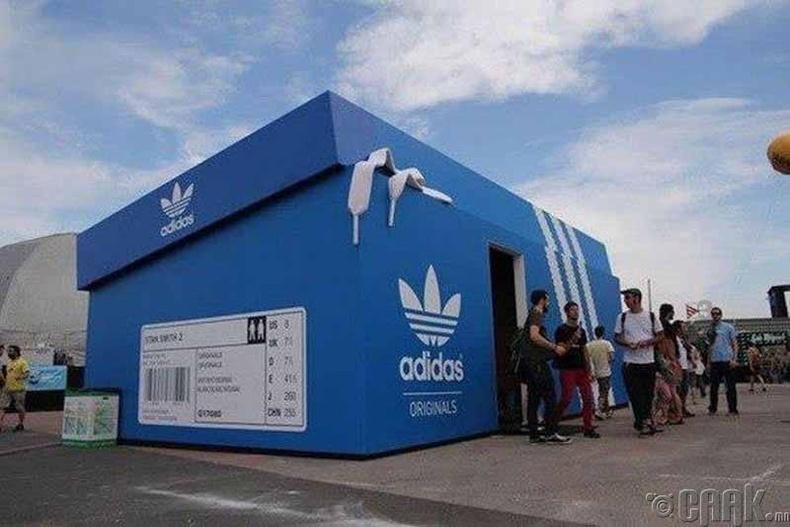"""""""Adidas"""", Амстердам"""