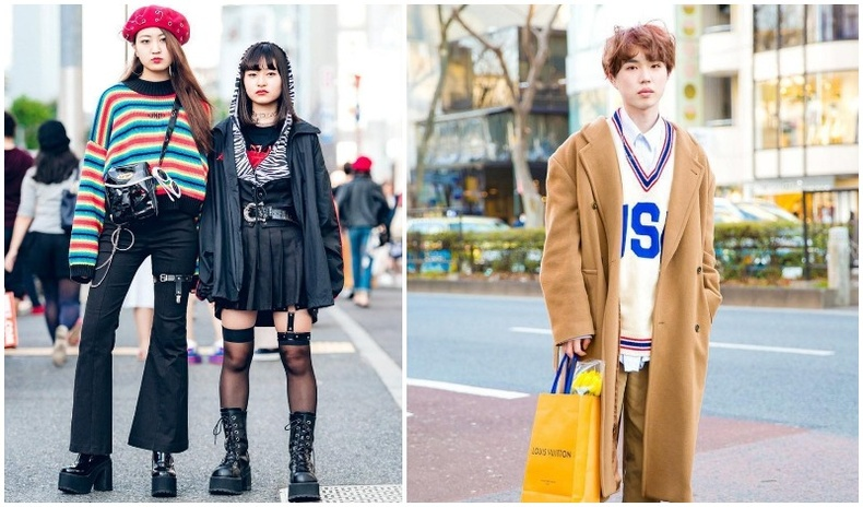 Япон залуусын гудамжны стиль
