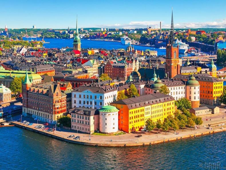 Швед улс, Стокгольм хот - 48.7%