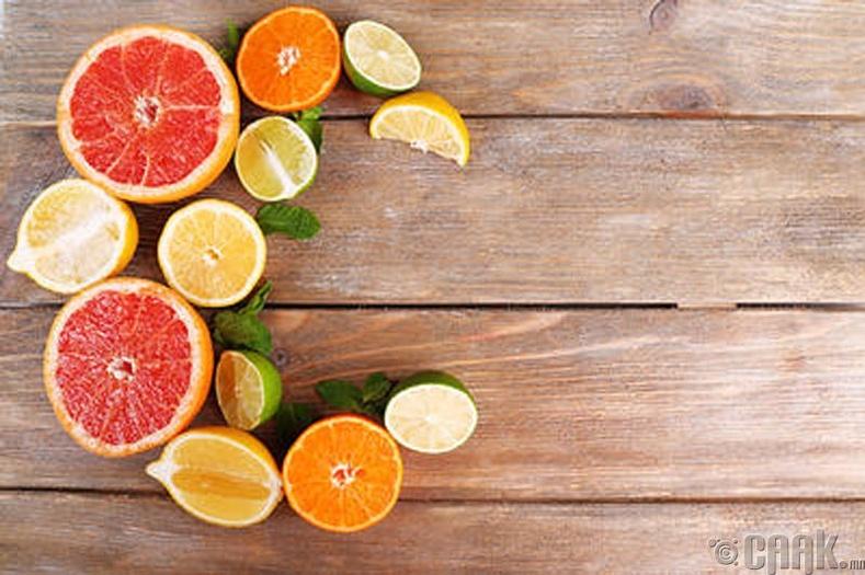 Уушги цэвэрлэдэг хоол хүнсүүд