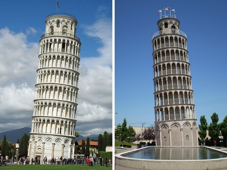 Пизагийн цамхаг (Итали), АНУ-ын Нилс хотын усан цамхаг