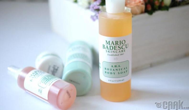 """""""Mario Badescu Skin care"""" - Органик ургамлын түүхий эдтэй биеийн саван"""