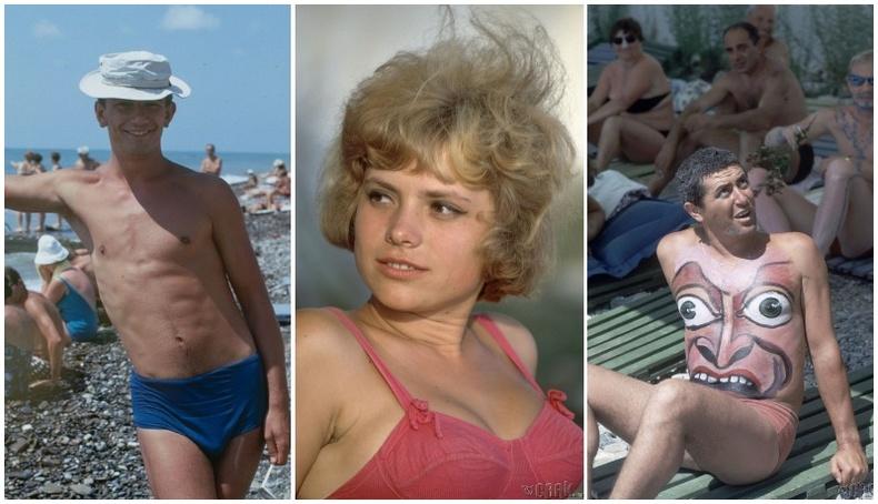 """""""Хар далайн амралт"""" - Зөвлөлтийн үеийн түүхэн зургууд (25 фото)"""
