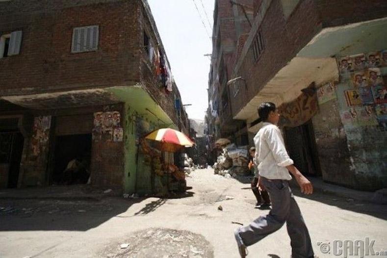 Хог түүгчдийн хот, Египет