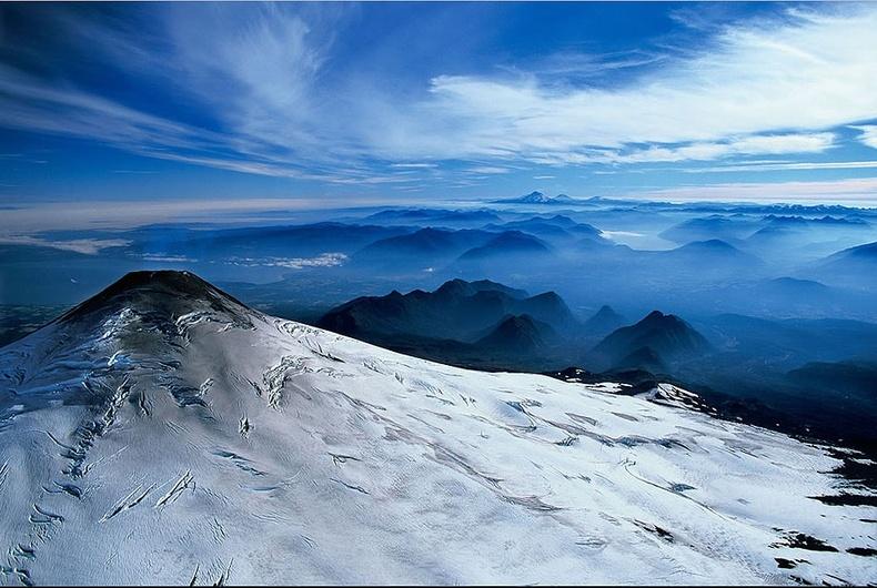 Вилларика галт уулын мөнх цаст оргил - Чили