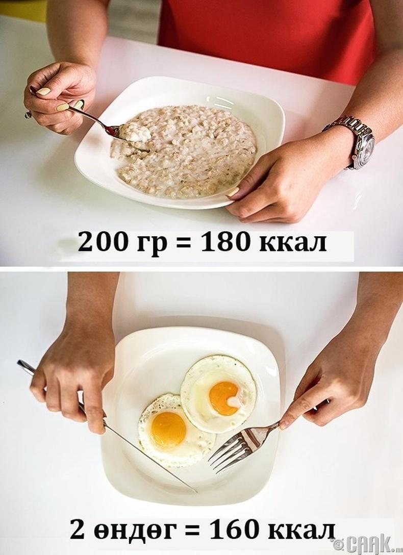 Удаан боловсрох хоолыг сонгох