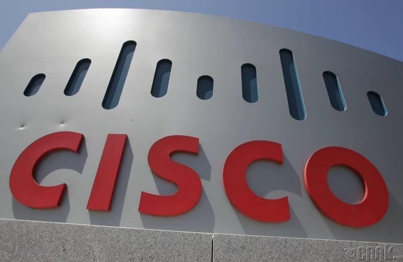 """Cisco"" - 28.4 тэрбум доллар"
