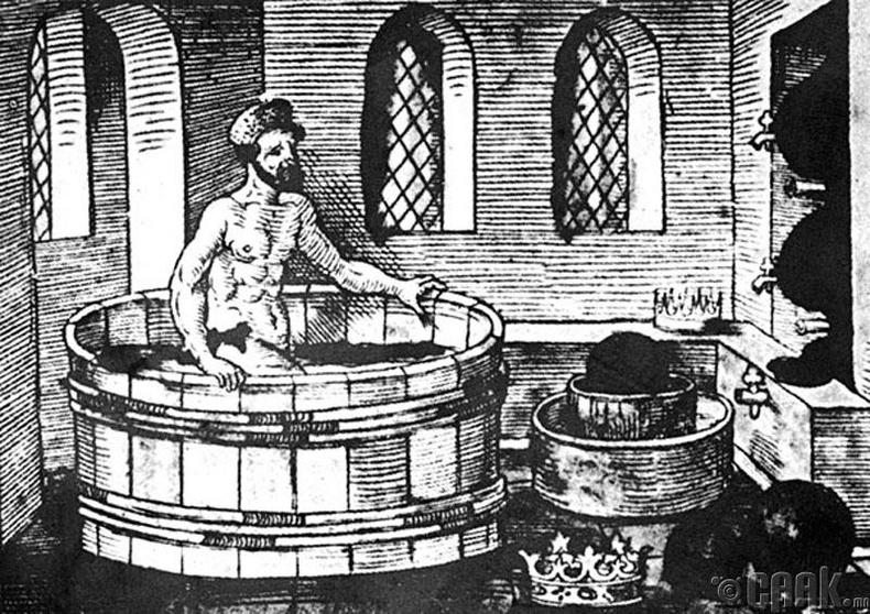 Архимед усанд орж байхдаа математикийн эзэлхүүний нээлтээ олж байжээ