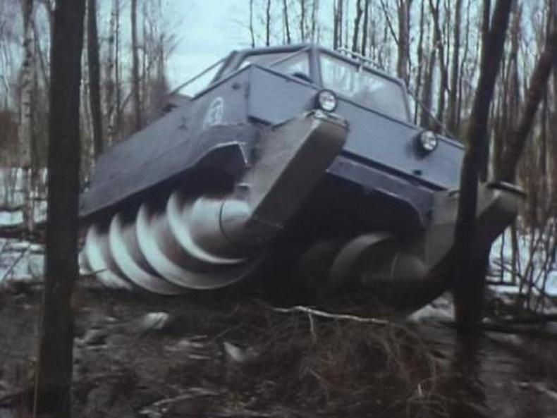 Оросуудын бүтээсэн супер машин