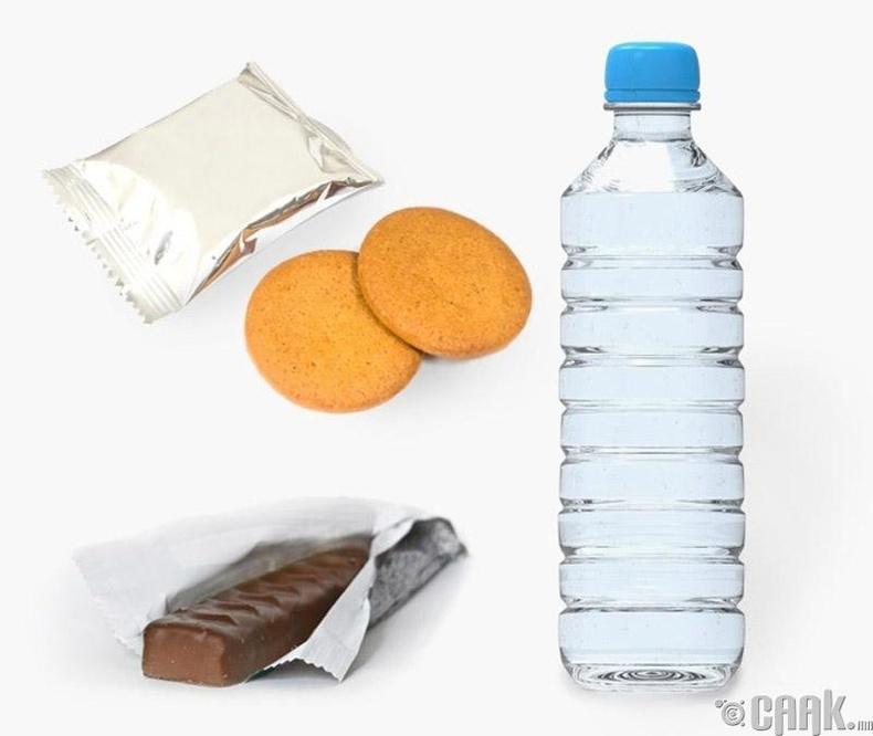 Хоол хүнс, ус