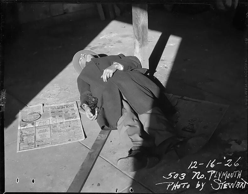 Буудуулан үхсэн эрэгтэй, 1926
