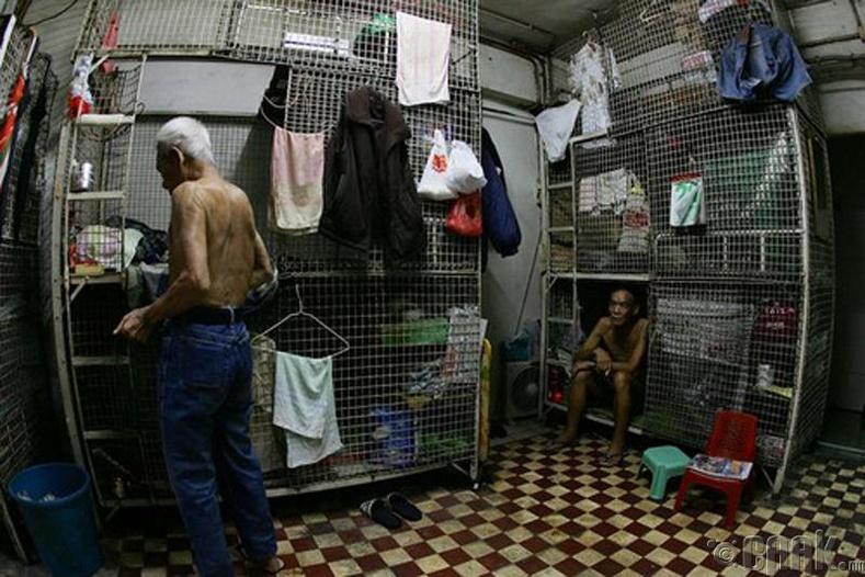 Хонконгийн ядуусын хороолол