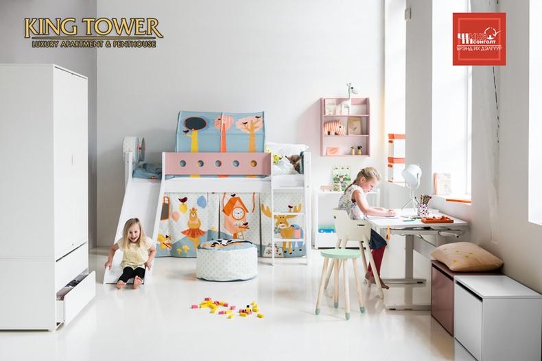 King Tower: Захиалагч бүрд итали улсын хүүхдийн өрөөний  иж бүрэн тавилга  бэлэглэнэ