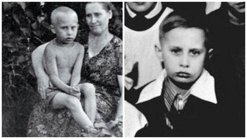 Путины бага нас, залуугийн зургууд:
