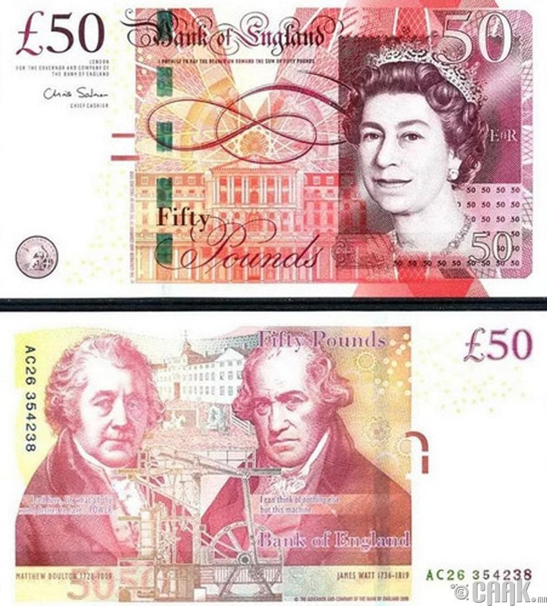 Фунт стерлинг (GBP)