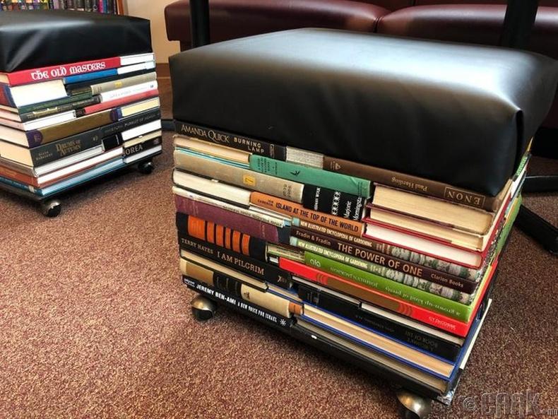 Номын сан акталсан номнуудаа ингэж ашиглажээ