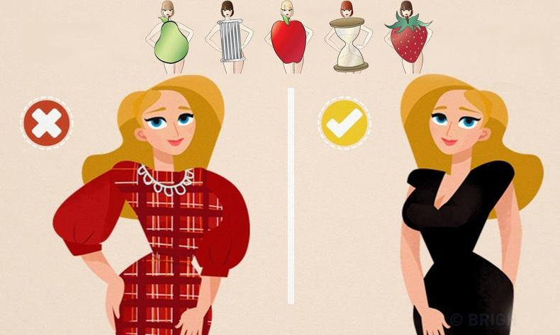 Биеийн галбиртаа тохируулан хэрхэн зөв хувцаслах вэ?