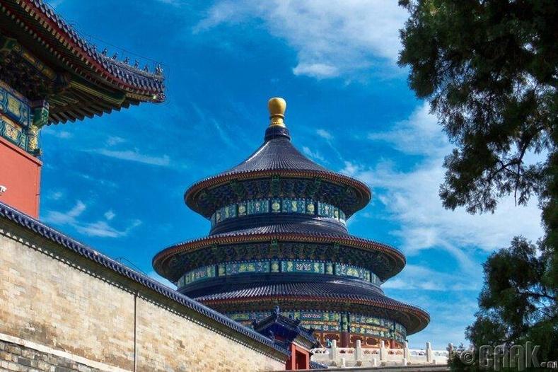 """Хятадын түүх соёл дахь """"тэнгэр"""" үзэл"""