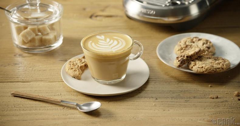 Цагаан кофе (Flat white)
