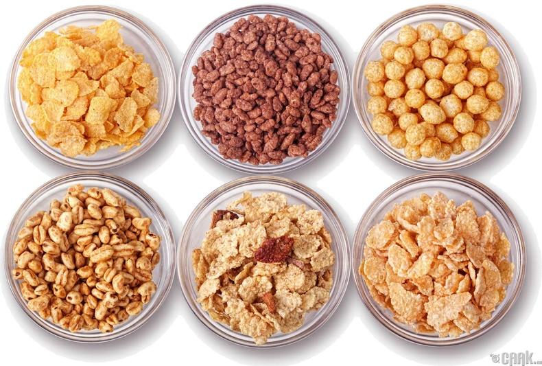 Баяжуулсан амуу тариа (cereal)