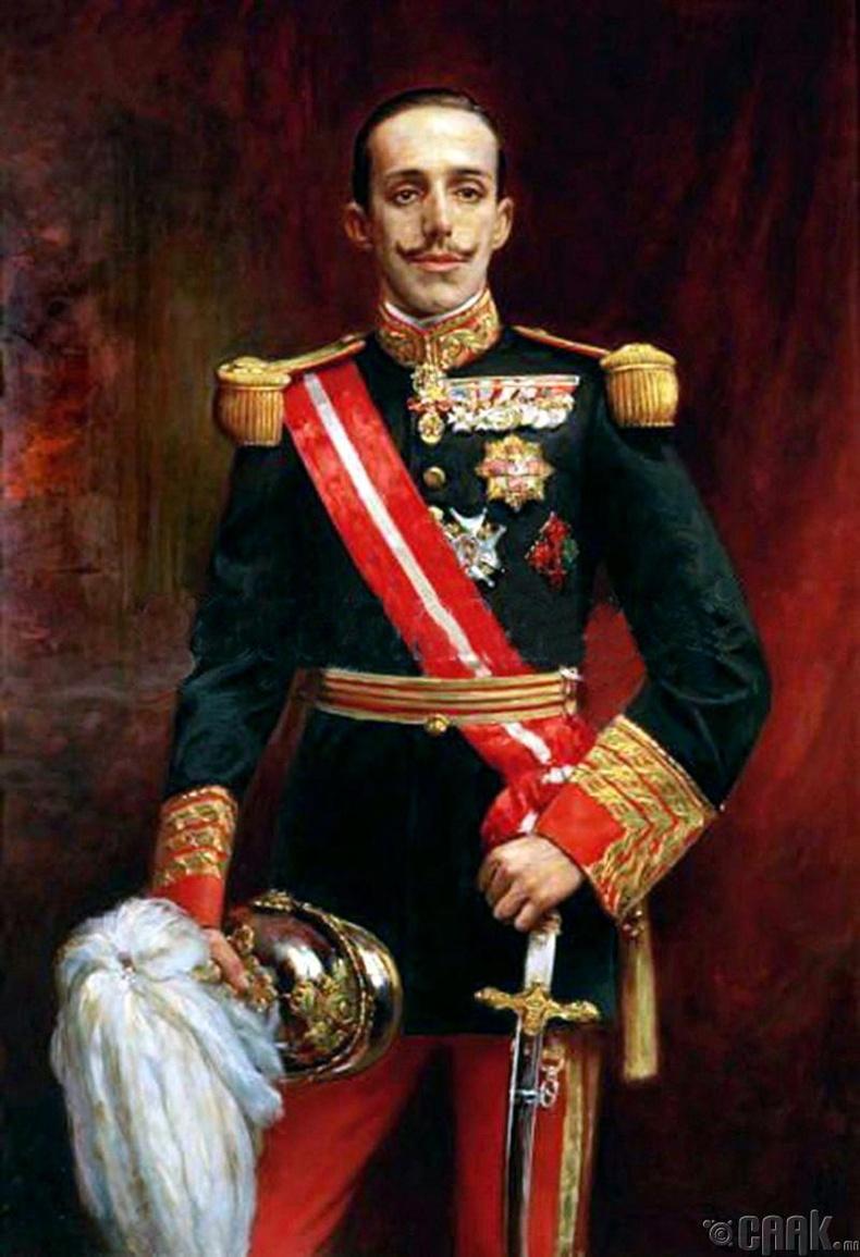 Испанийн хаан  Альфонсо XIII