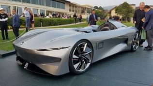 Ирээдүйн уралдааны машинтай танилц!