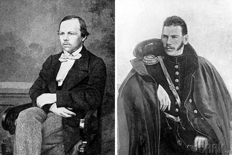 Алдар зохиолч Достоевский болон Лев Толстой нар