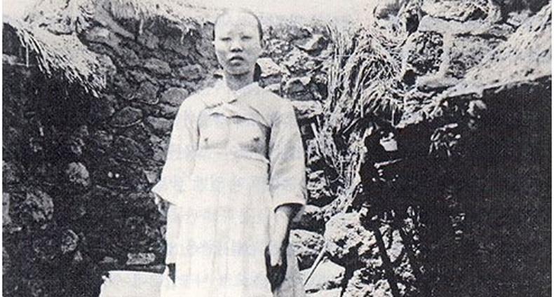 Солонгос эмэгтэйчүүд 100 жилийн өмнө