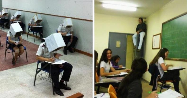 Орон орны сургуулиудад сурагчдыг шалгалтан дээр хуулахаас хэрхэн сэргийлдэг вэ?