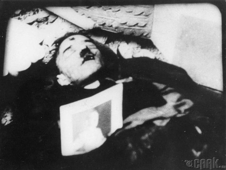 Гитлерийн үхэл