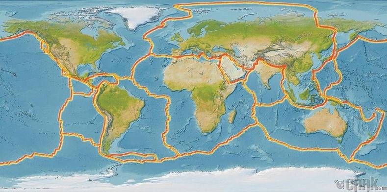 """""""НАСА"""" аль хэдийн сансрын судалгаа хийж байх үед эрдэмтэд дэлхийн тектоник хавтангийн учрыг олоогүй байлаа."""