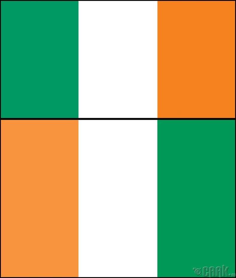 Ирланд (Ireland) болон Зааны ясан эрэг (Côte d'Ivoire)
