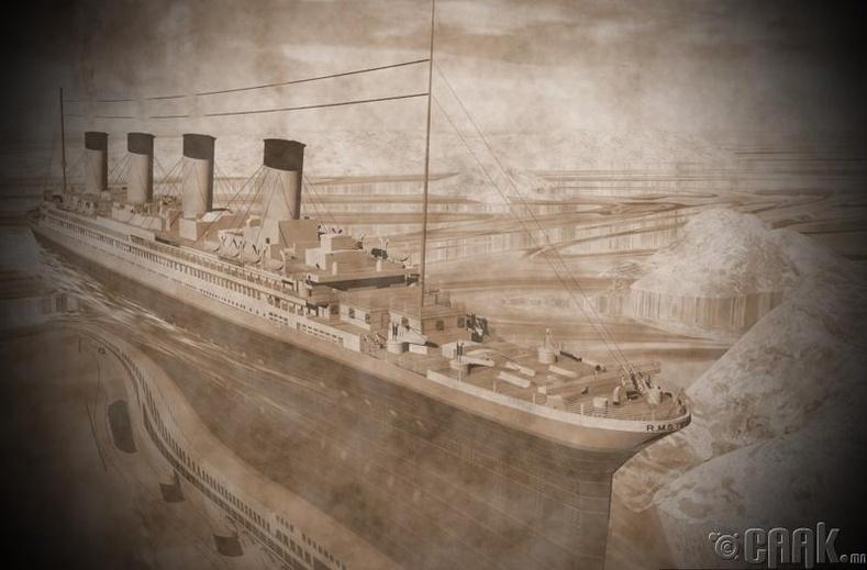 Роберт Баллард, Титаникийг анх илрүүлсэн