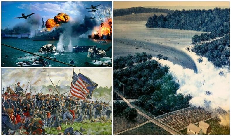 Америкийн түүхэн дэх хар өдрүүд