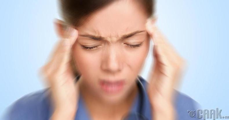 Толгойн өвдөлт намдаана