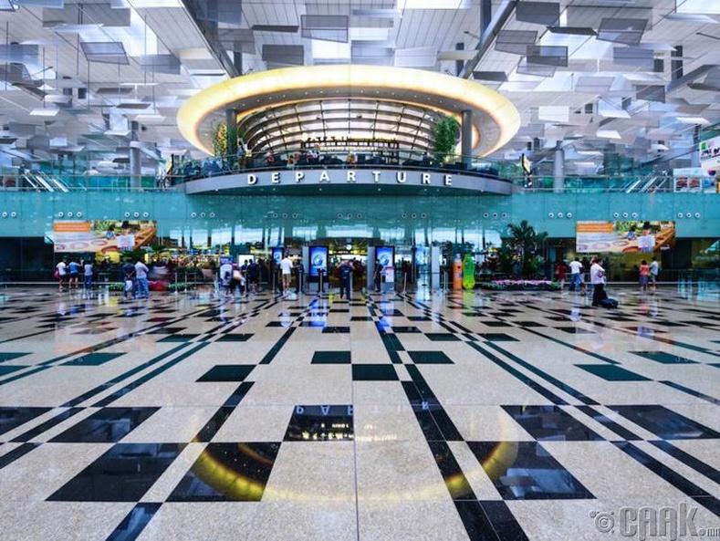 """""""Чанги"""" олон улсын нисэх онгоцны буудал, Сингапур"""