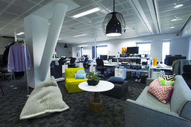 Сидней дэхь Facebook-ийн шинэ офис