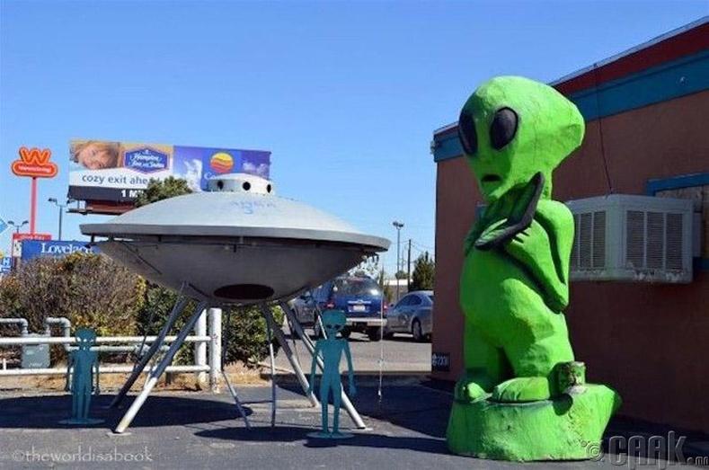 Харь гарагийнхны хот - Розуэлл, Нью-Мексик муж, АНУ