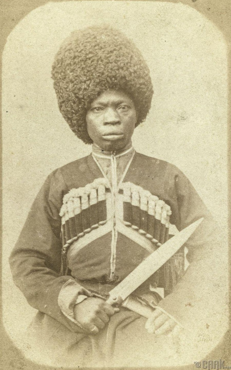 Афро-Абхаз гаралтай иргэн