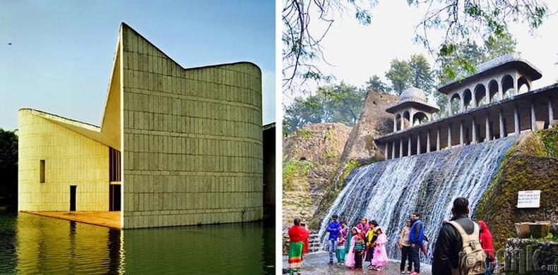 Чандигарх: Нуман хаалга болон хүдэр том хийцтэй хот