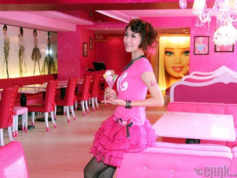 """""""Барби кафе""""- Тайван"""