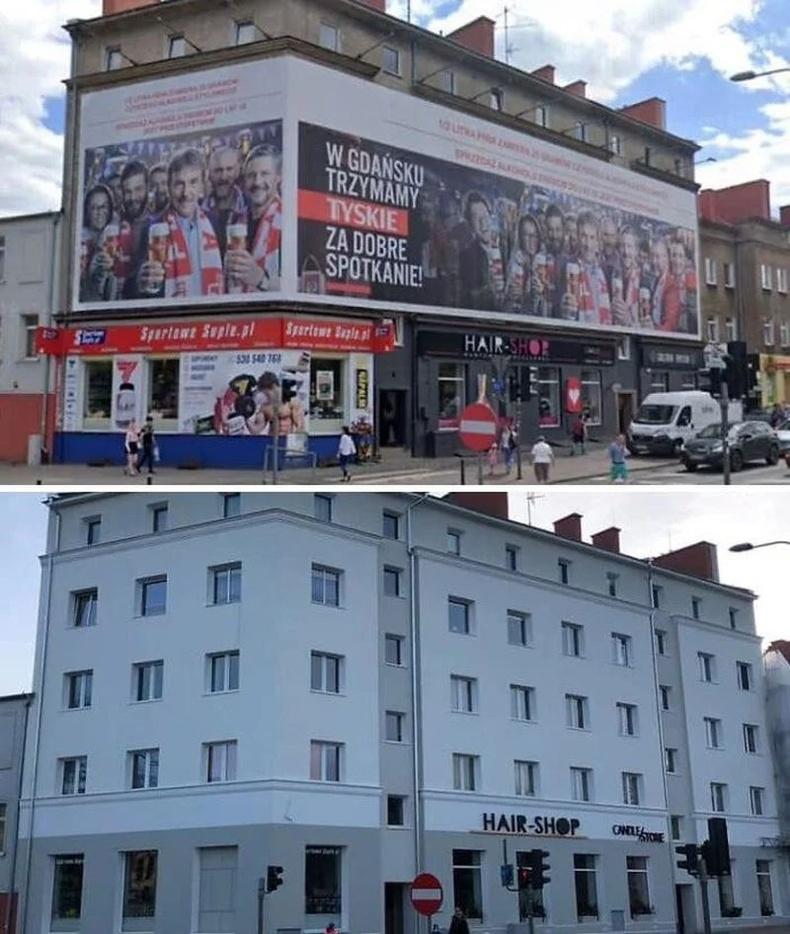 Зар сурталчилгааны самбар хотын өнгө үзэмжинд хэрхэн нөлөөлдгийг Польшууд ухаарчээ