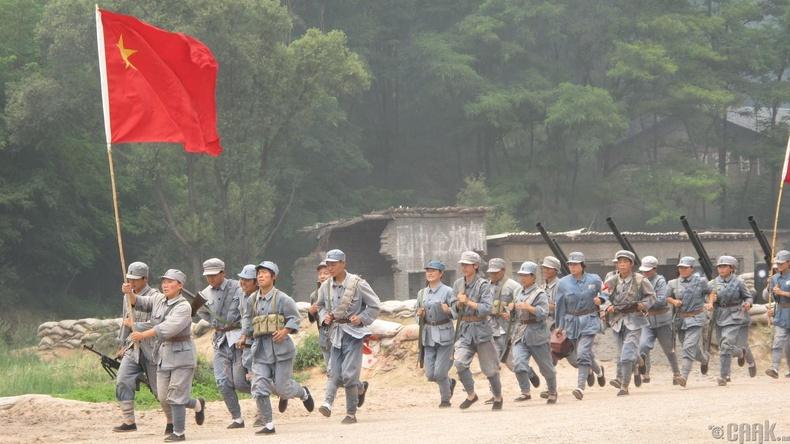 Мао Зэдуны коммунистууд болон эрх баригч Үндэсний намын хоорондох дайн