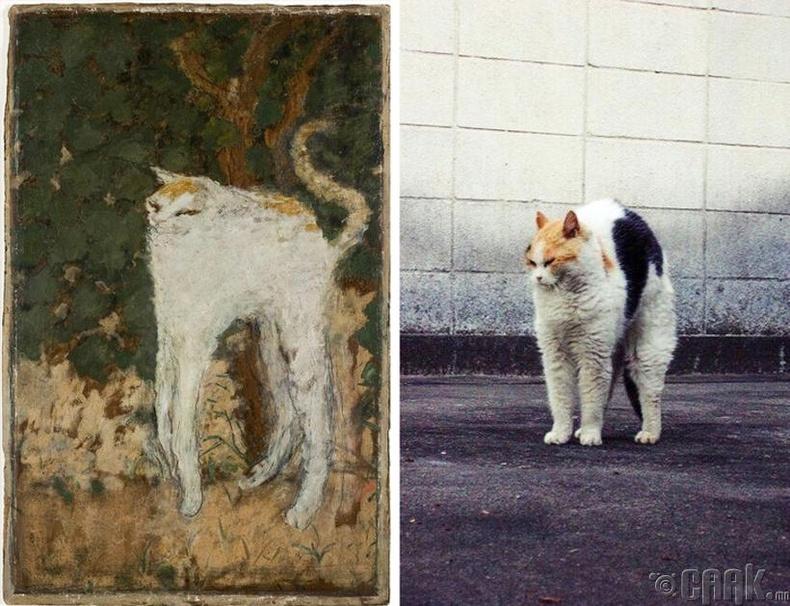 """Пьер Боннар (Pierre Bonnard) - """"Цагаан муур"""""""