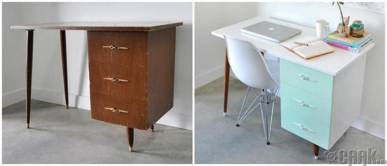 Хуучин ширээг загварлаг болгох