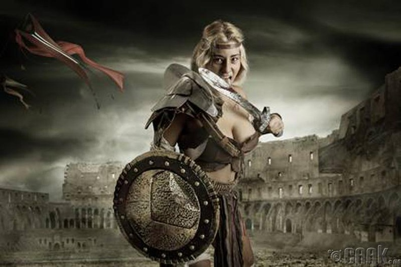 Эмэгтэй гладиаторууд