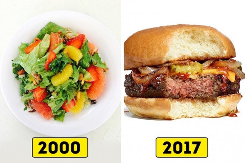 Салат VS Бургер
