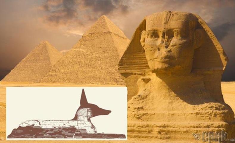 Египетийн Сфинкс