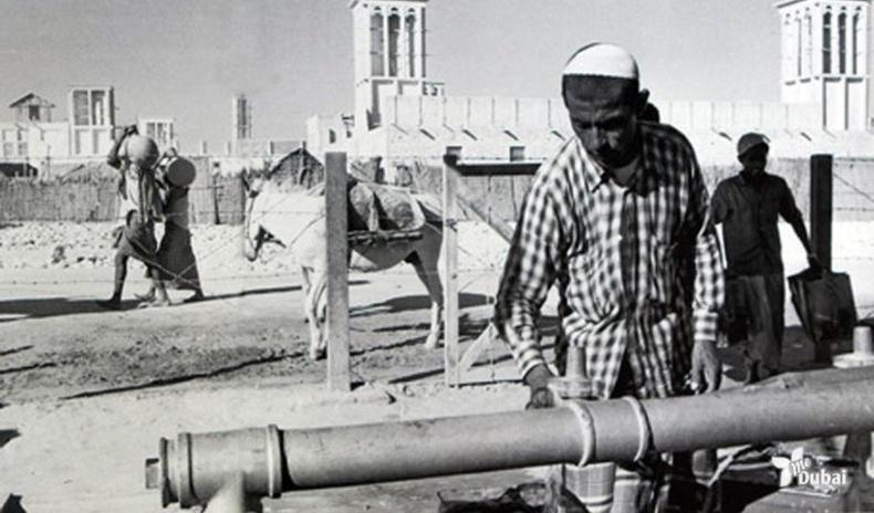 Газрын тосны нөөц илрүүлэхээс өмнөх Дубай